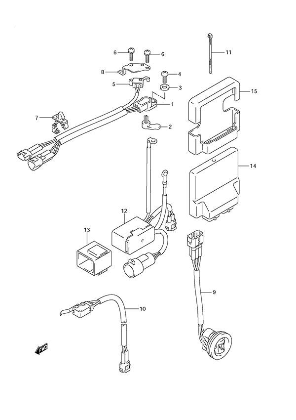 Suzuki Df150 Wiring Schematic : 29 Wiring Diagram Images