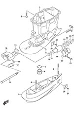 Outboard Motor Transom Mount, Outboard, Free Engine Image
