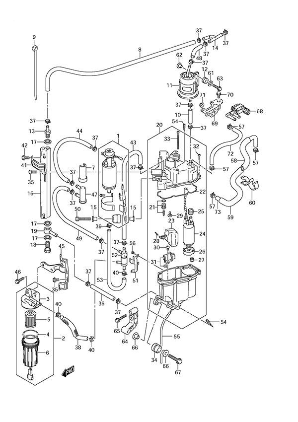 Suzuki Df 140 Wiring Diagram Suzuki Df1175 Power Wiring