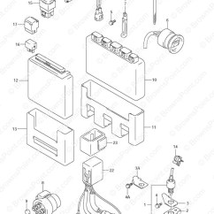 Evinrude Outboard Ignition Switch Wiring Diagram Ford Focus 2005 Radio Fig, 34 - Engine Control Unit Suzuki Df 70 Parts Listings 1998 To 2008