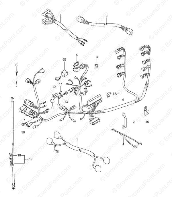 starter wiring diagram in addition omc johnson evinrude control box