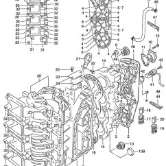 Honda Fuel Injector Wiring Diagram 2004 Chevy Venture Radio Fig. 1 - Crankcase Suzuki Dt 140 Parts Listings 1986 To 2001