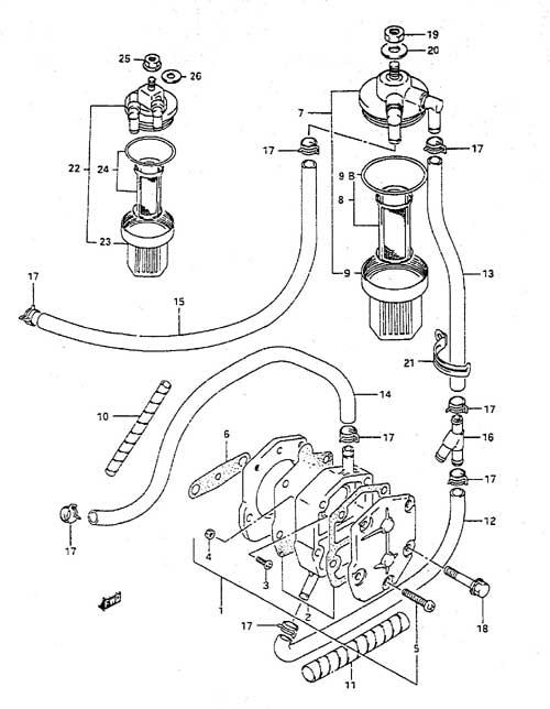 wiring diagram suzuki outboard motor