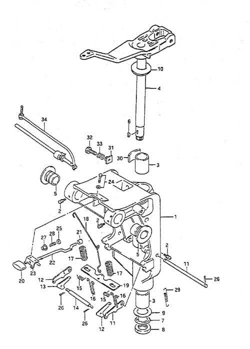 Suzuki Dt 55 Parts Listings Browns Point Marine Service