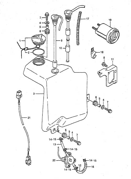 83 Suzuki Dt 115 Hp Carb Diagram. Suzuki. Auto Parts