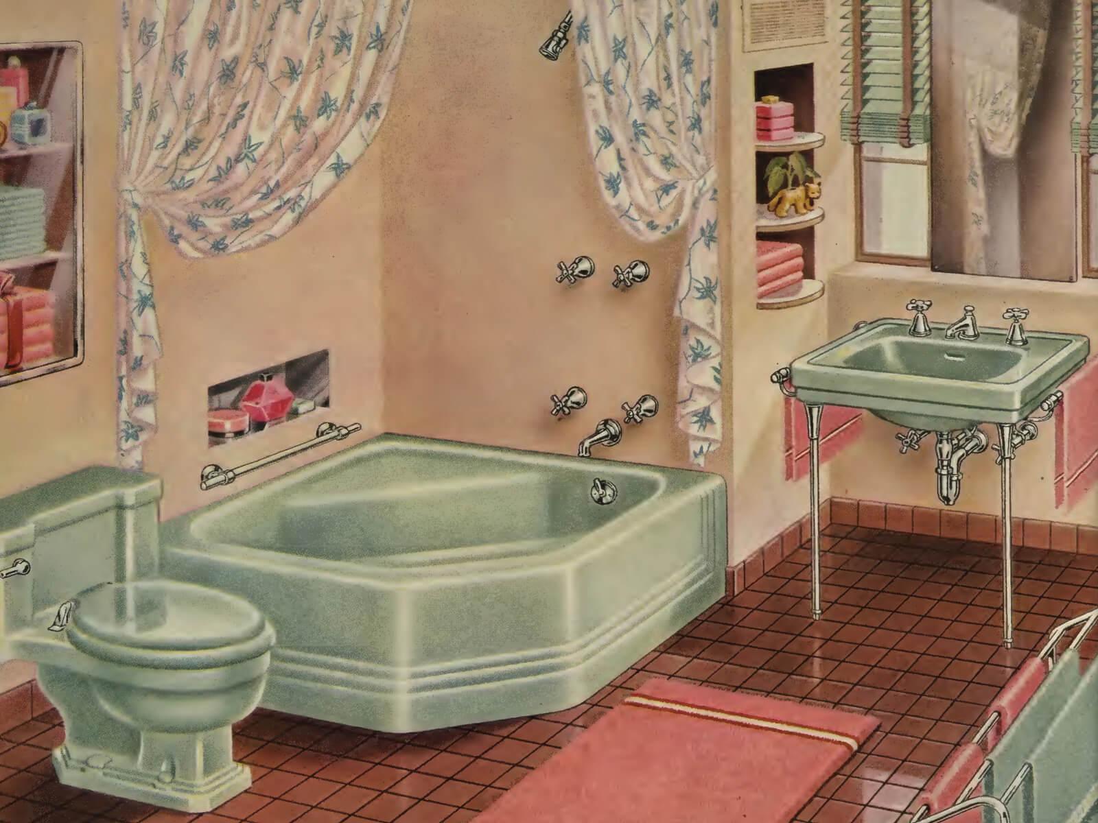 Victorian Bathroom A Quick History Of The Bathroom