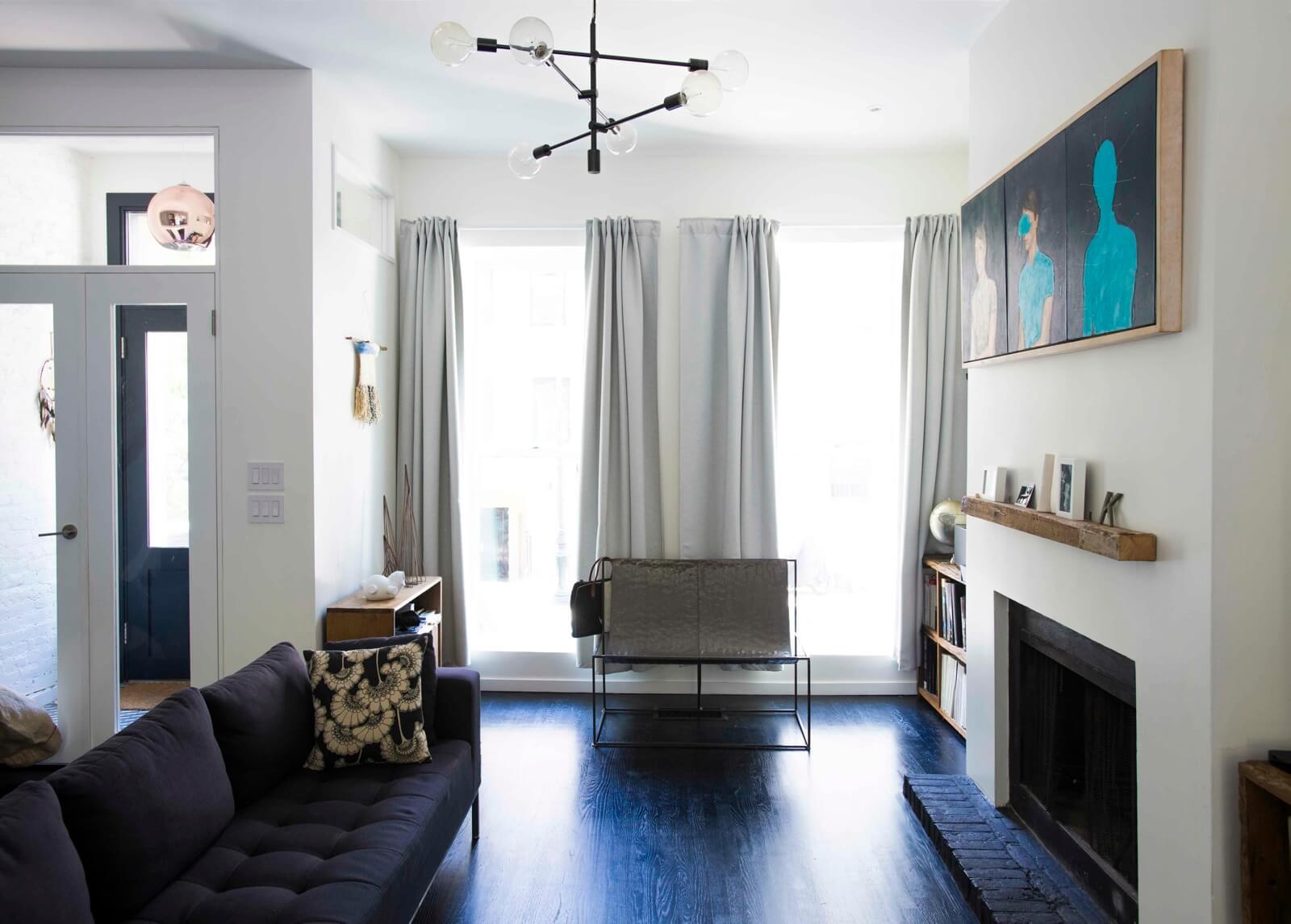 Interior Design Ideas Minimalist Reno Redeems Run Down Row House