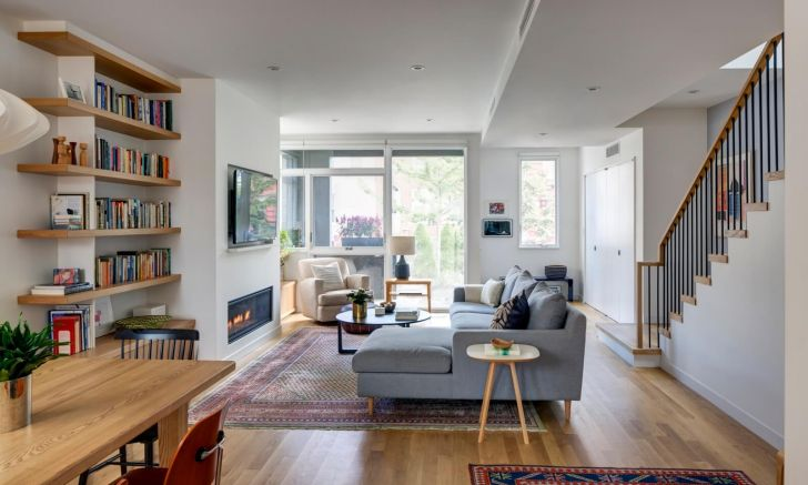 Photos interior design ideas terraced house of androids high quality brooklyn goes radically modern
