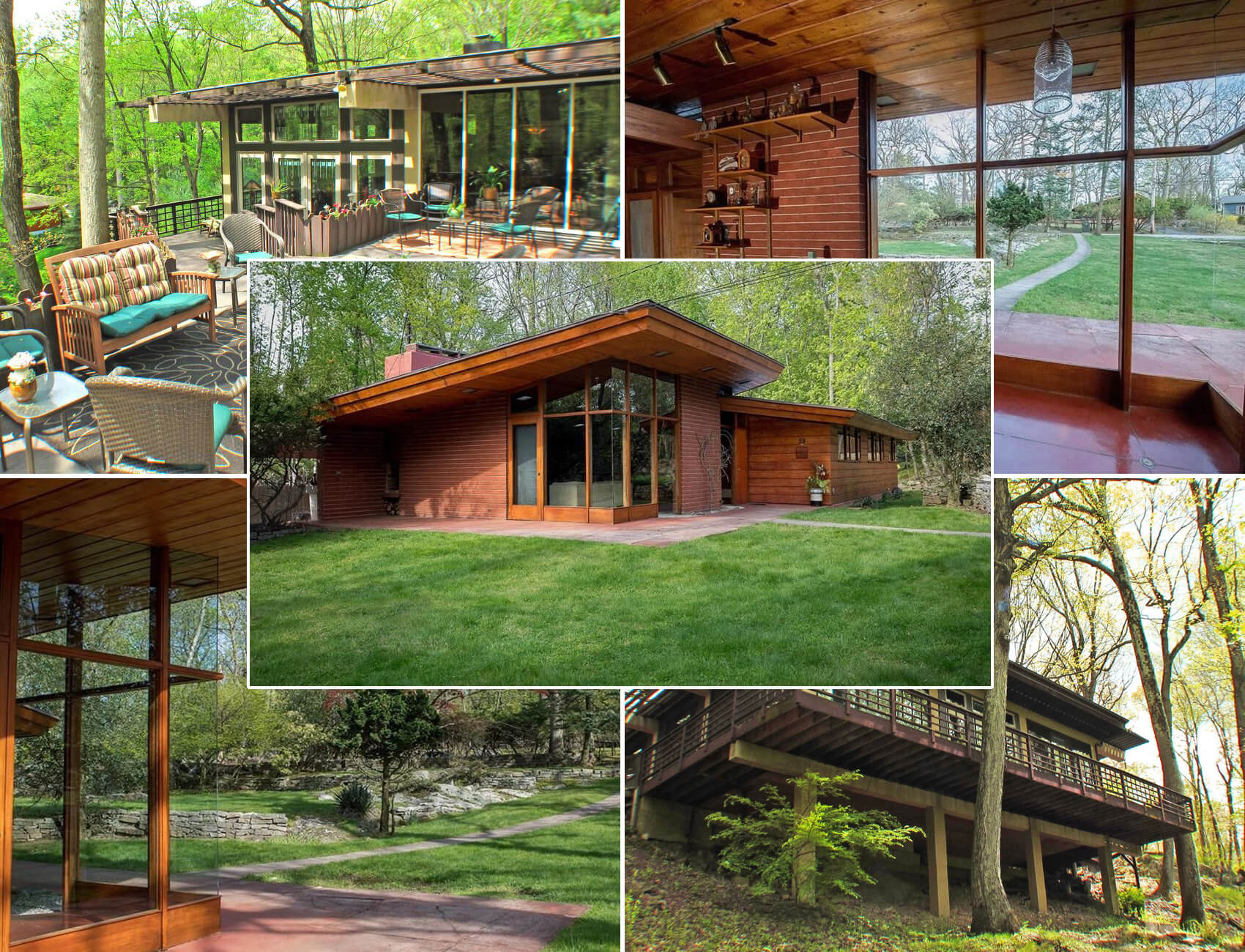 Upstate Homes For Sale Frank Lloyd Wright S Usonian