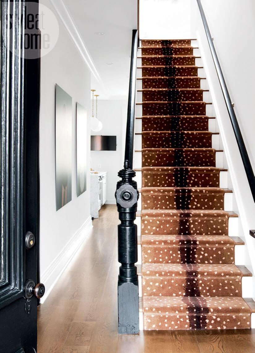 Stair Runner Ideas Brooklyn Townhouse Edition Brownstoner | Carpet Runners For Stairs | Brown | Herringbone | Blue | Design | Wool