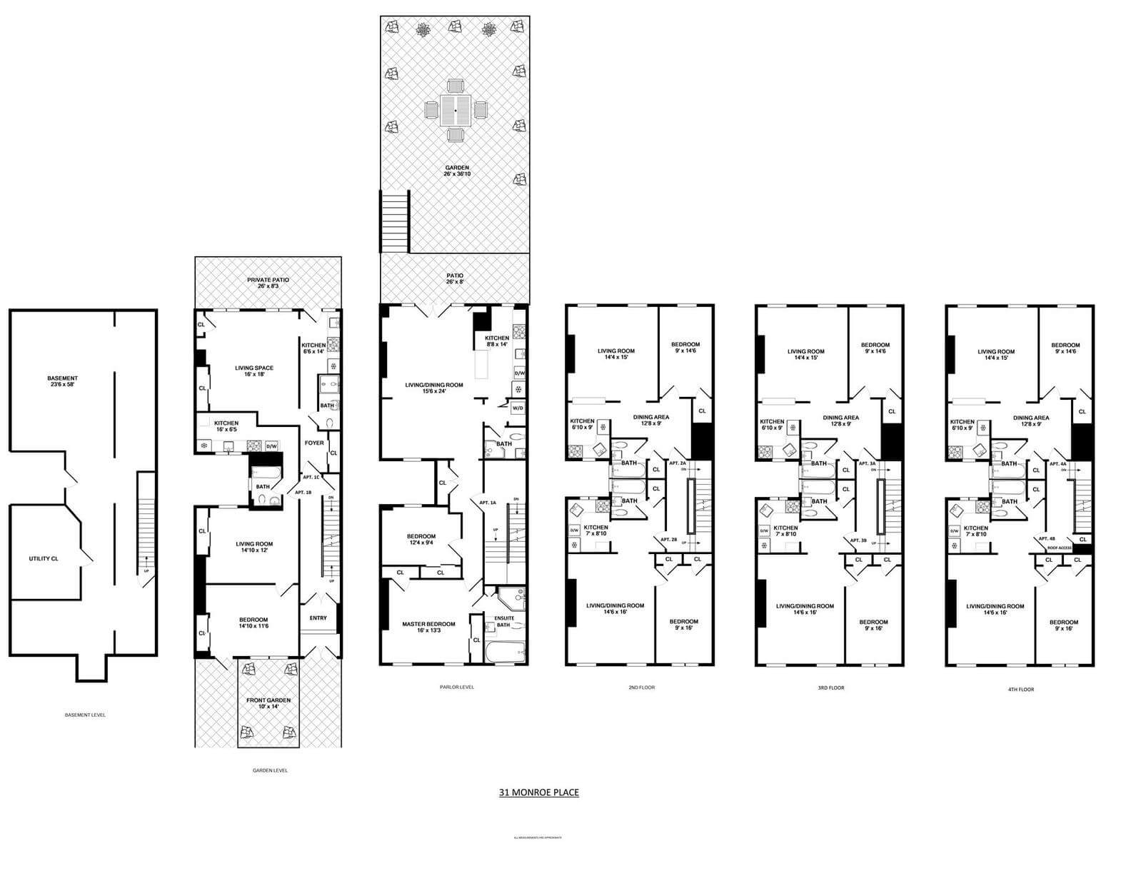 Brooklyn Homes For Sale 31 Monroe Place In Brooklyn