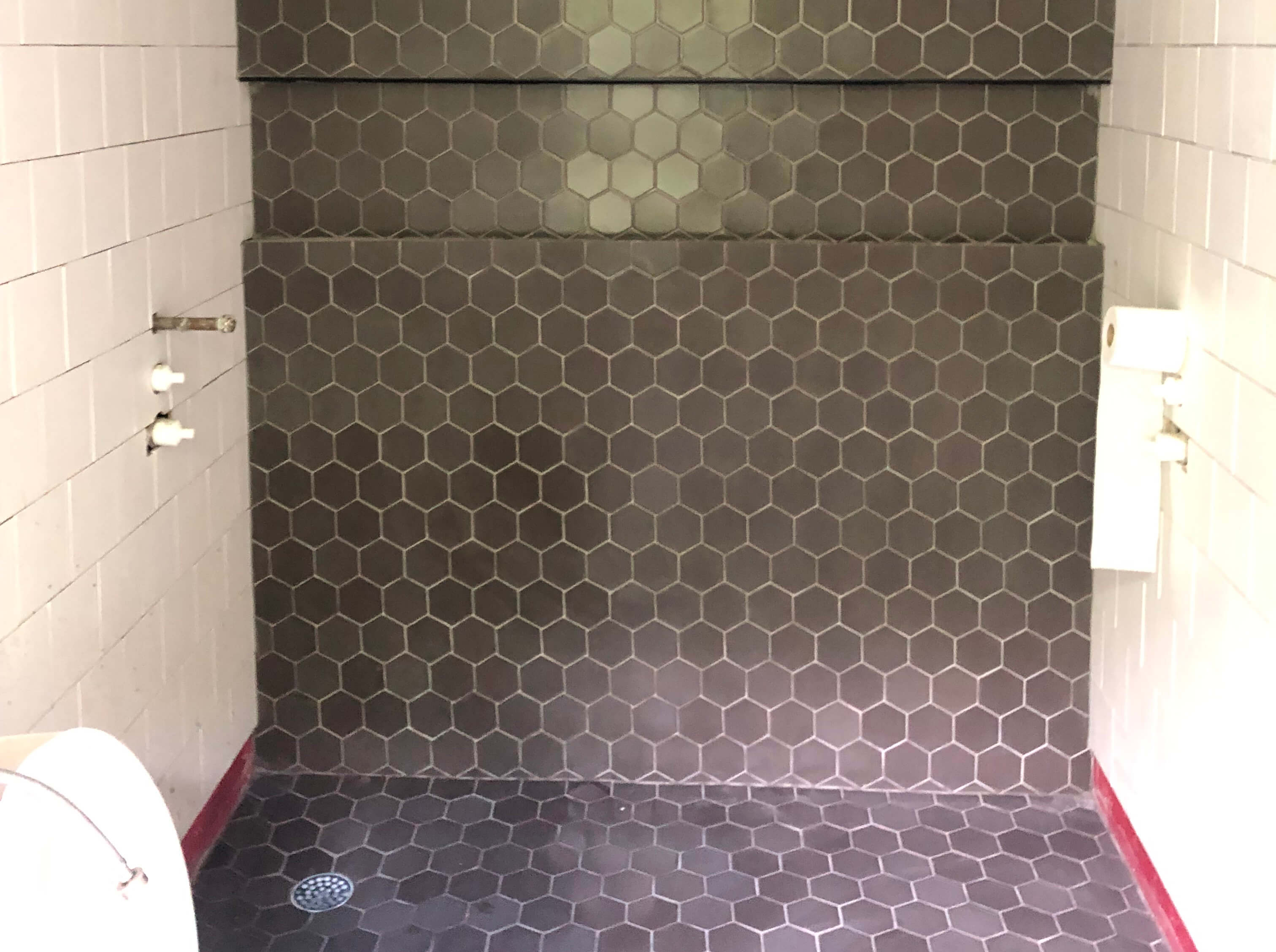 brownstone boys getting the grout