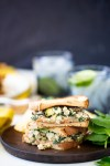 POBLANO-MUSHROOM PROTEIN PACKED​ SANDWICH