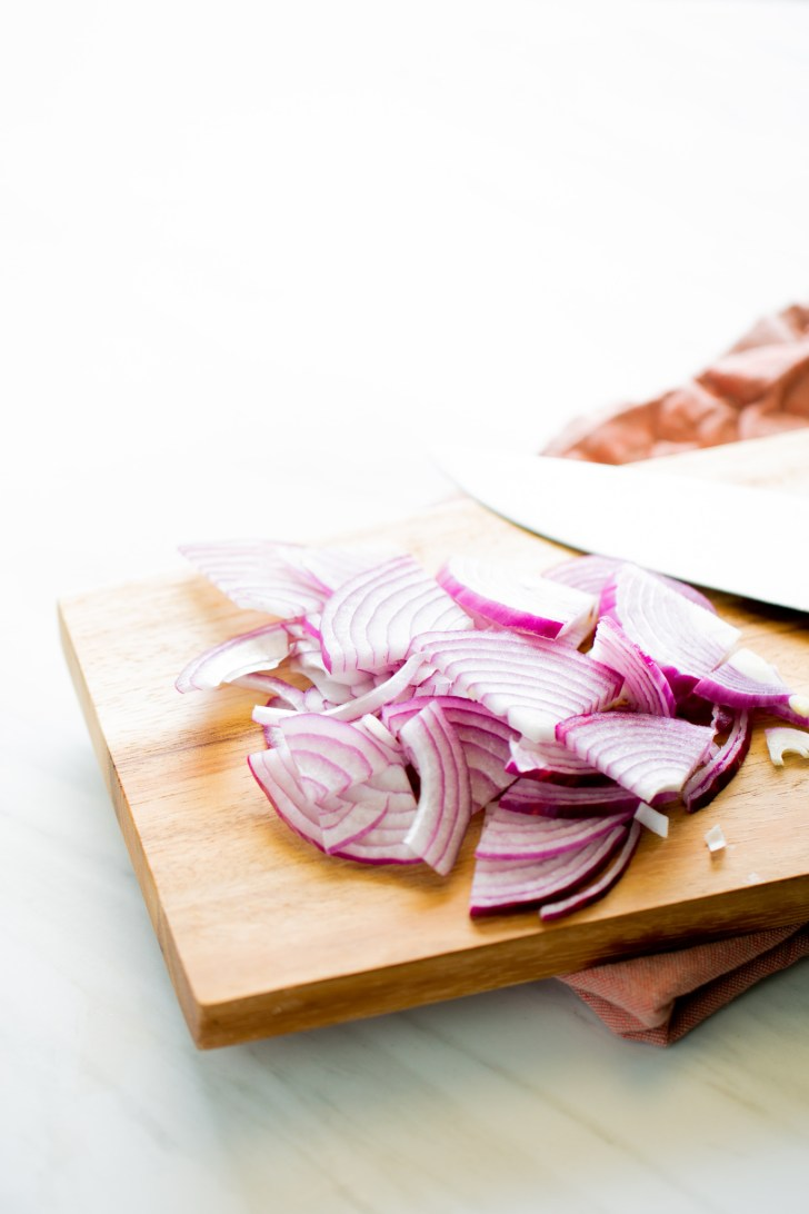 Mexican pickled red onions
