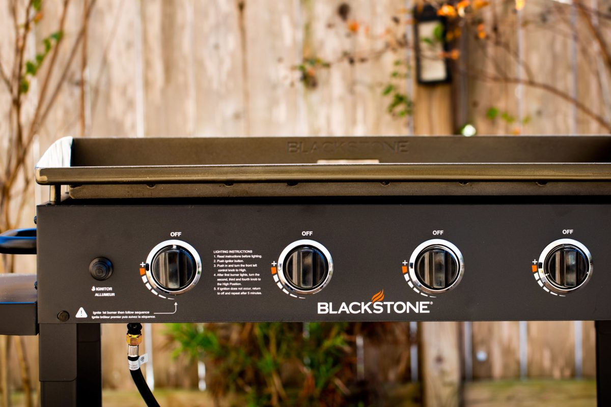 "Blackstone 36"" griddle, asador de home depot"