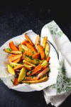 Roasted sweet potatoes​ with homemade Latin spice mix
