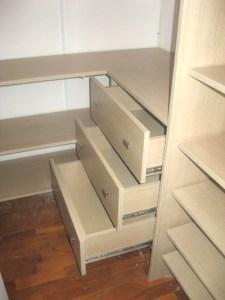 CA001 | Cabina armadio con cassettiere
