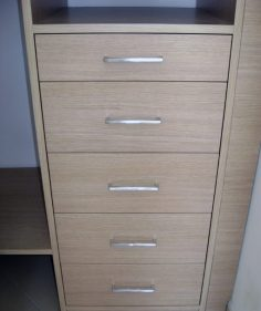 Cabina armadio cassettiera su misura
