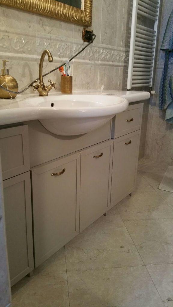 Mobile bagno sottolavello - Sottolavello bagno ...