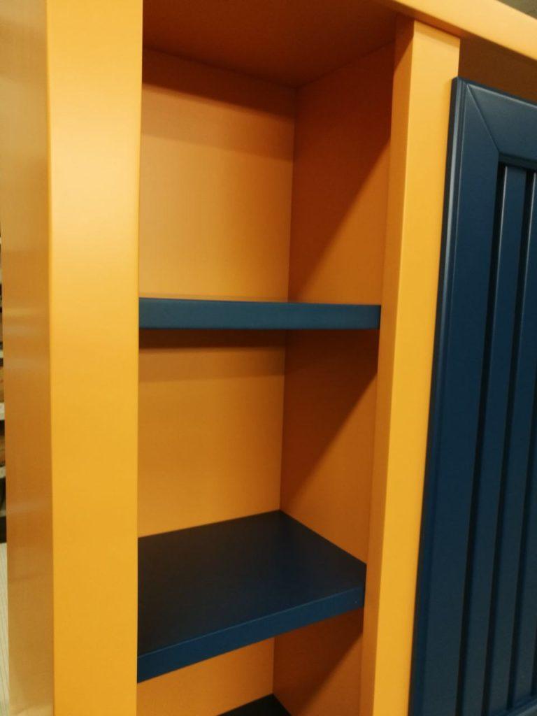 copritermosifone con librerie laterali
