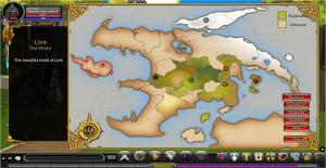adventure quest worlds map