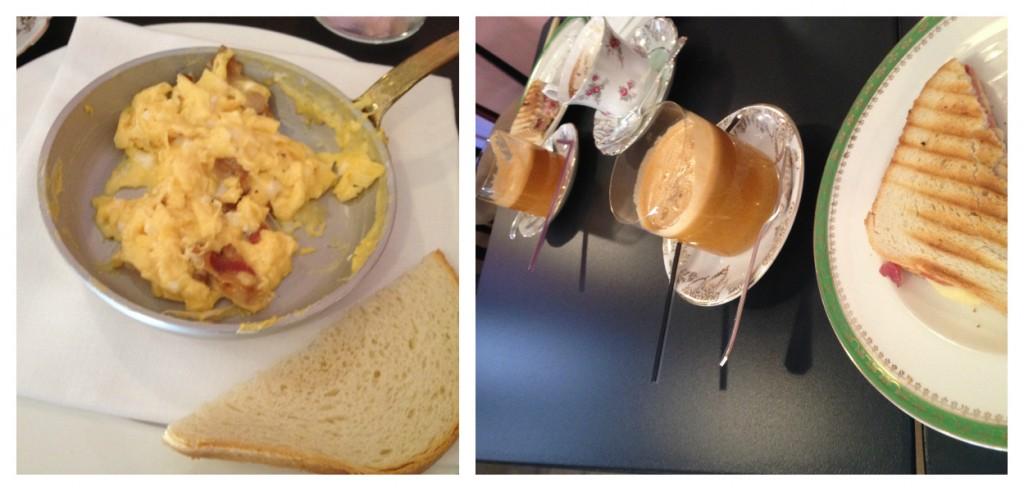 Places to Eat in Rome, Italy - Coromandel - Set Breakfast