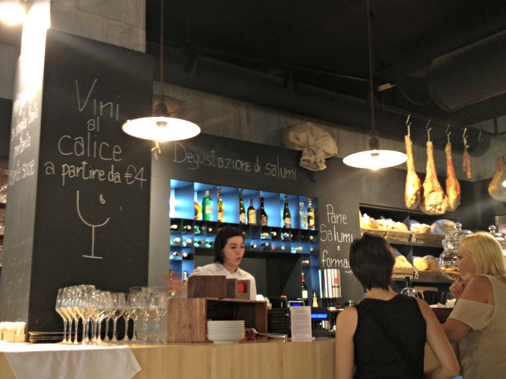 Places to Eat in Rome, Italy - RED Feltrinelli - Counter