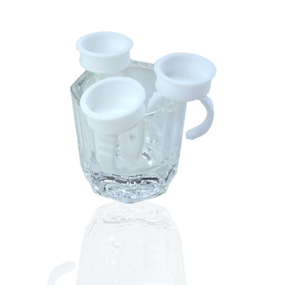 Crystal Clear Ink Ring Cup (2 pcs)