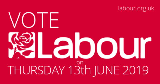 Vote Labour 13th June