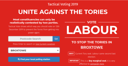 Considering whether to vote tactically in Broxtowe?