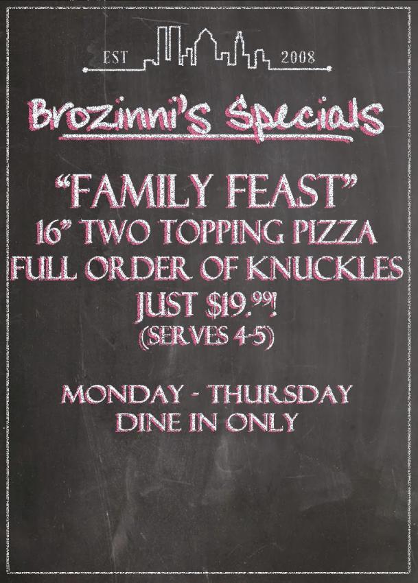 Brozinnis Family Feast