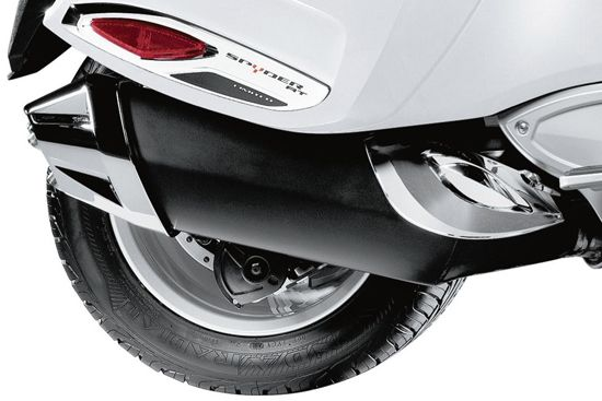 exhaust tip and heat shield