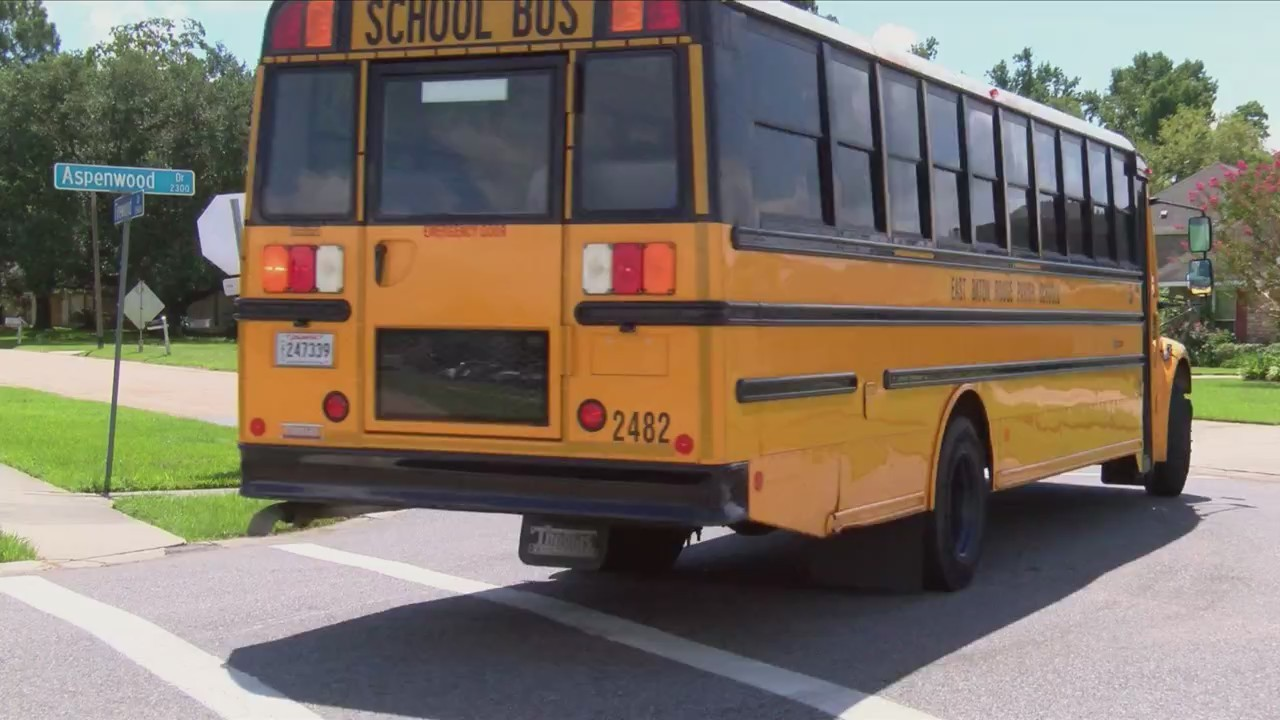 EBR school bus drivers practice routes ahead of new school year