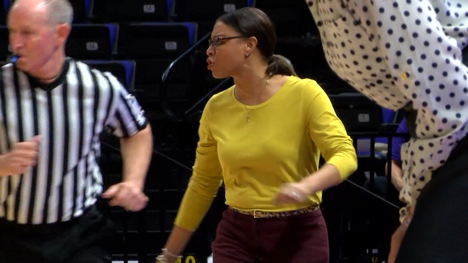 LSU WBB Head Coach Nikki Fargas