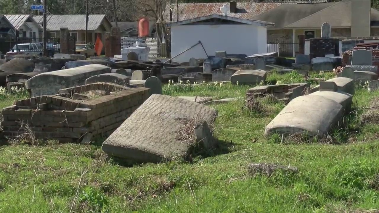 Sweet Olive cemetery update