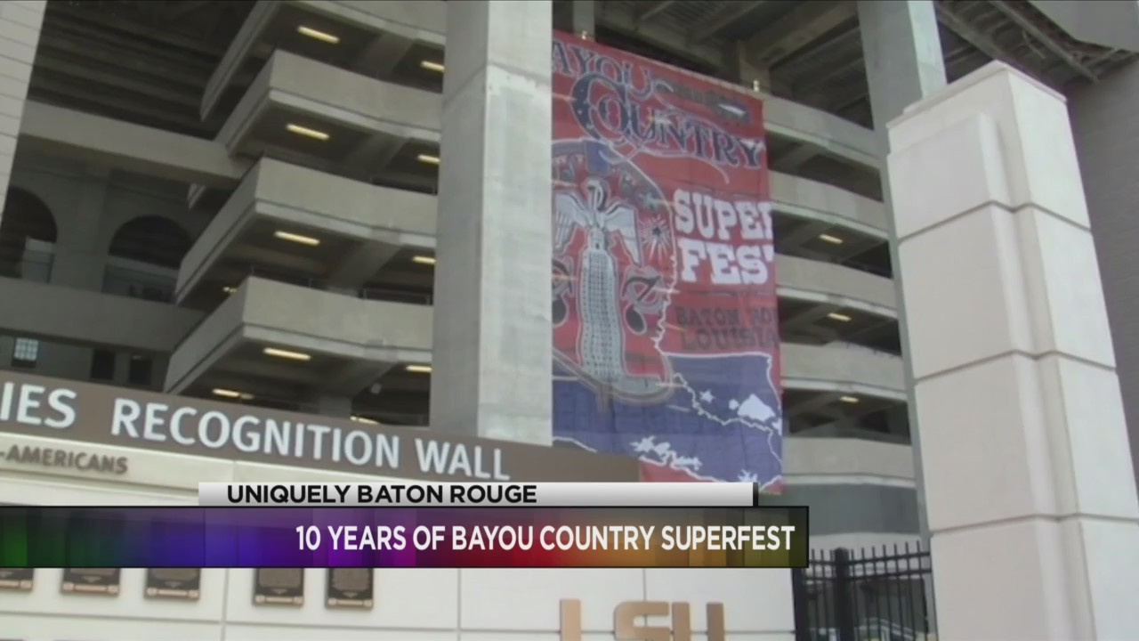 Uniquely Baton Rouge: Quint Davis on 10 years of Bayou Country Superfest