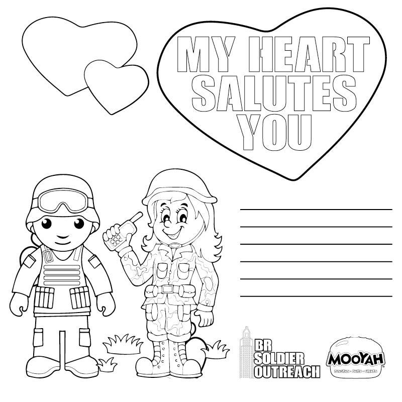Baton Rouge Soldier Outreach requesting Valentine cards