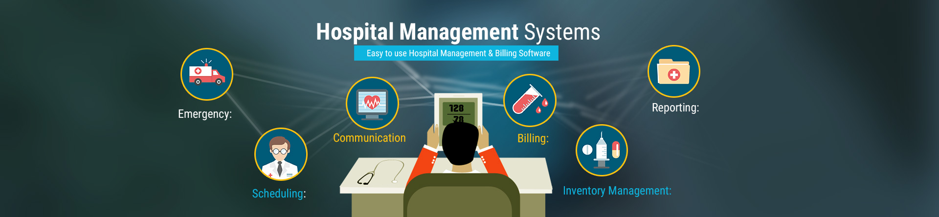 hight resolution of hospital management software