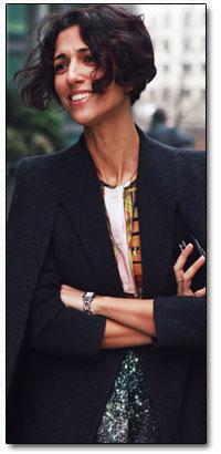 Yasmin Sewell  Britishborn Brazilianraised fashion consultant