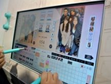 using screen touch