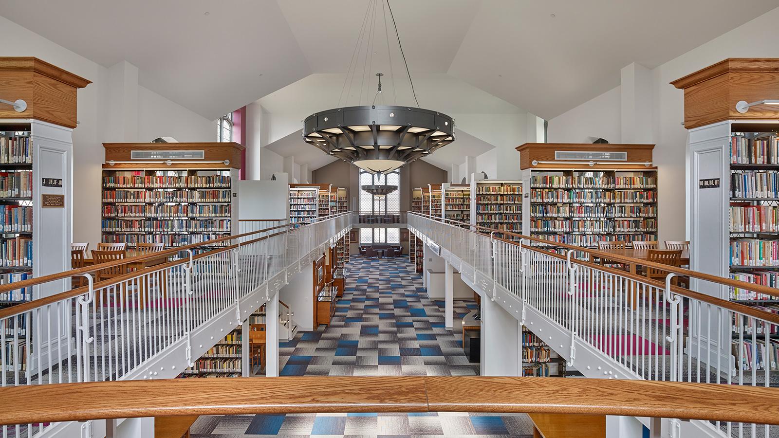 Wilson College Library  Bruce E Brooks  Associates