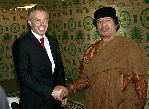 Are we going to let Gaddafi win?