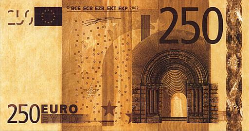 European Euro banknote