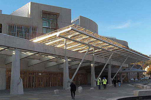 The Scottish Parliament Building (Scottish Gaelic: Pàrlamaid na h-Alba) is the home of the Scottish Parliament at Holyrood, within the UNESCO World Heritage Site in central Edinburgh.