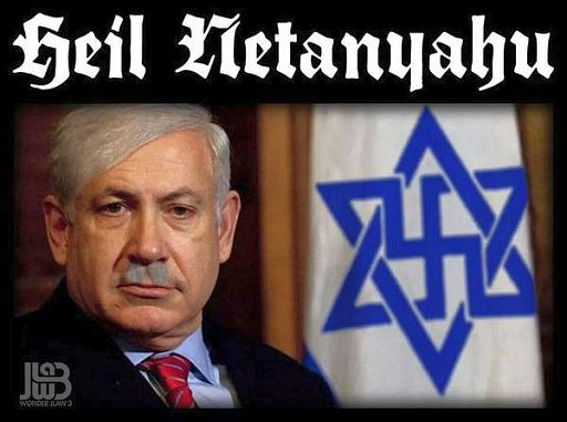 Israel Netanyahu Nazi 512