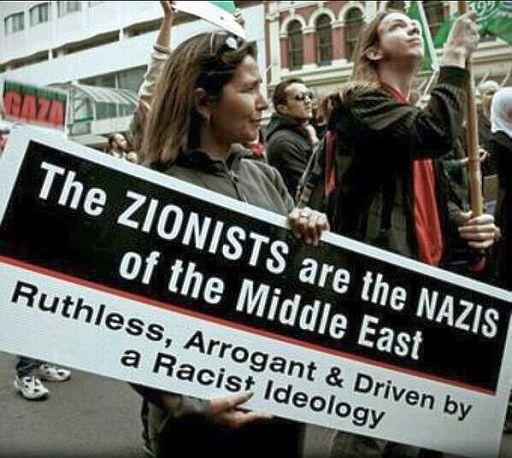 Israel. Zionists = Nazis 512