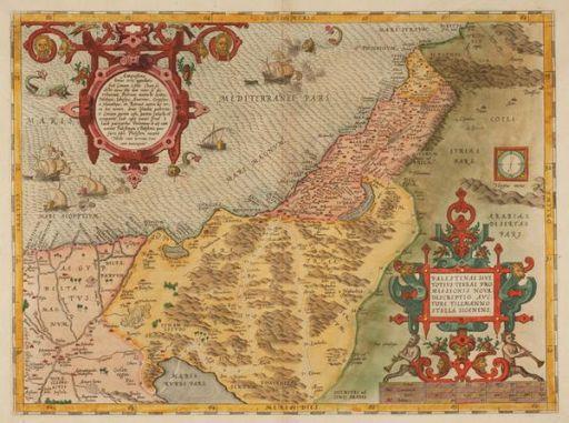 Palestine map 1574 512