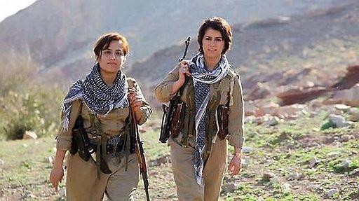 Peshmerga girls