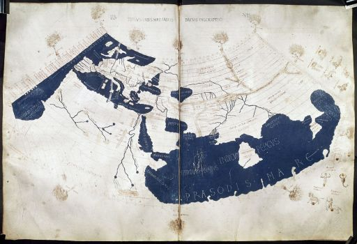 Ptolemy World Map 512