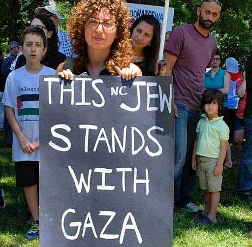 Israel Jew stands with Gaza 512